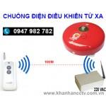 Chuông điện điều khiển từ xa bằng remote KST-C15-4RM