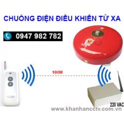 Chuông điện điều khiển từ xa bằng remote C15-4RM