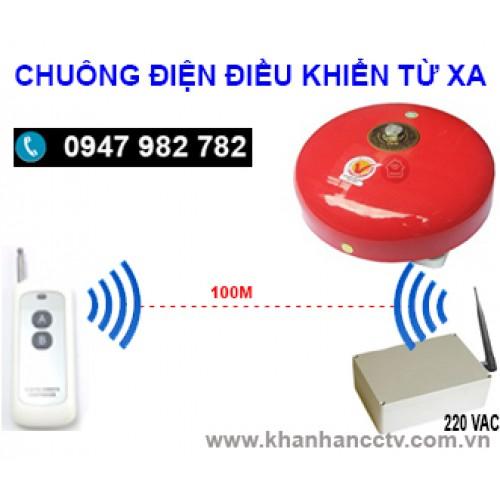 Chuông điện điều khiển từ xa bằng remote C15-4RM, đại lý, phân phối,mua bán, lắp đặt giá rẻ
