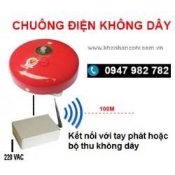 Bộ thu sóng không dây + chuông điện 4 inch KST-C15-4WL