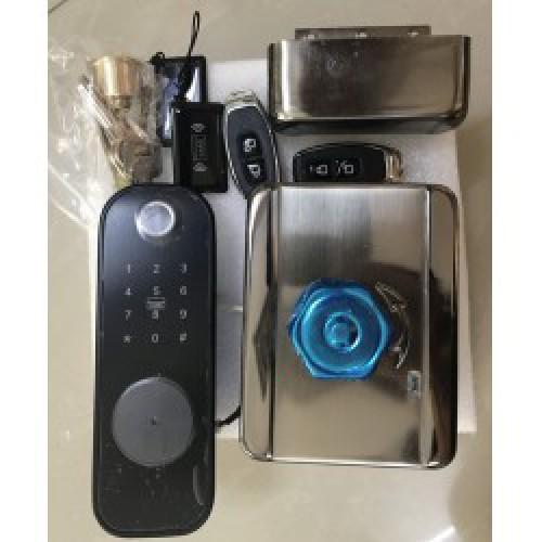 Khóa cửa vân tay cho cổng sắt VR-1200A, đại lý, phân phối,mua bán, lắp đặt giá rẻ