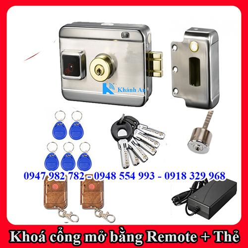 Khóa cổng điện từ dùng thẻ từ, remote KAXL-066, đại lý, phân phối,mua bán, lắp đặt giá rẻ
