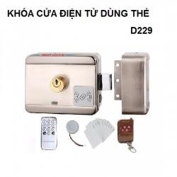 Khóa cổng quẹt thẻ VR-D229