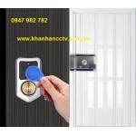 Khóa cổng điện từ dùng thẻ từ, remote KAXL-066