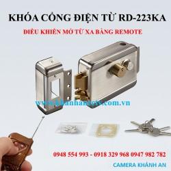 Khóa điện mở cổng từ xa bằng remote RD223KA-Remote