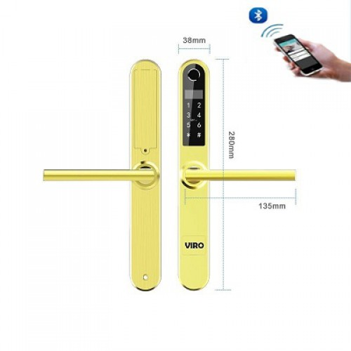 Khóa cửa xingfa Viro Smartlock 6 in1 VR-31B, đại lý, phân phối,mua bán, lắp đặt giá rẻ