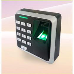 Đầu đọc kiểm soát ra vào dùng vân tay và thẻ X7