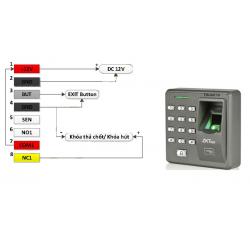Hướng dẫn sử dụng máy kiểm soát ra vào X7