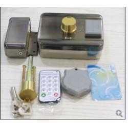 Khóa điện thông minh ABK-703B-remote, có chức năng đọc thẻ